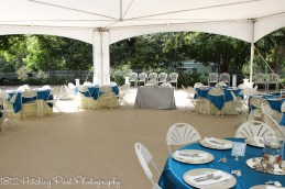Ocean blue and silver overlays