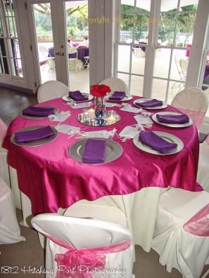 Raspberry with purple