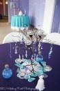 Deep Purple and Turquoise