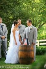 Coral Navy Outdoor Wedding-13