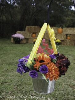 Whimsical autumn wedding