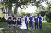 Navy Sunflower Wedding-18