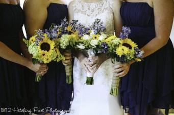 Navy Sunflower Wedding-5