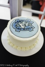 Groom's cake: UNC Carolina Tar Heels