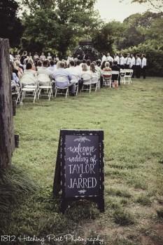 Ceremony in corral