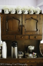 Cute vintage coffee stand