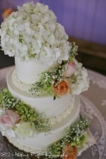 Sweet wedding cake