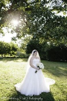 Lovely bridal shot