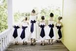Flower girls on the balcony