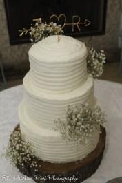 Combed cake