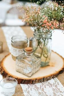Bottles and mason jars