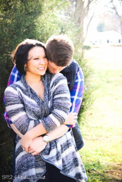 1812 Hitching Post Engagement Photo (2 of 14)