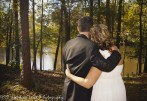 Couple Married by lake
