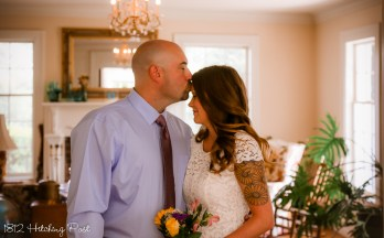 August Outdoor Elopement 1812 Hitching Post