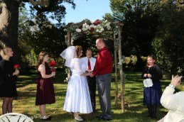 October Wedding 1812 Hitching Post-22