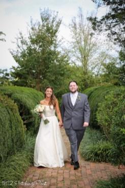 September Wedding 1812 Hitching Post-25