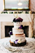 """Almost"" naked cake"