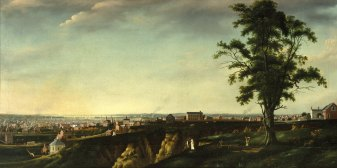View of Baltimore from Chapel Hill, by Francis Guy, American, 1760-1820