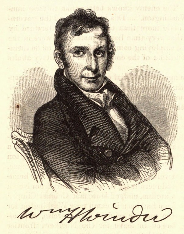 Portrait of William Winder by Benson John Lossing