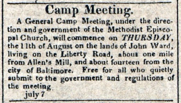 A General Camp Meeting