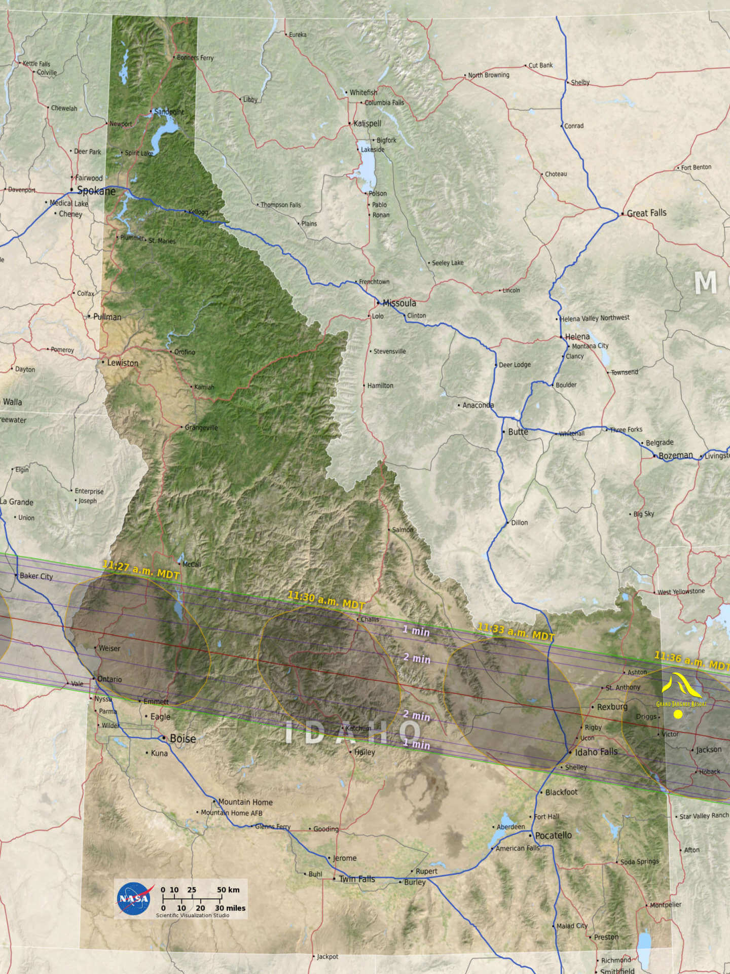 Solar Eclipse Viewing On Top The Teton Mountains Ltd Tickets Available