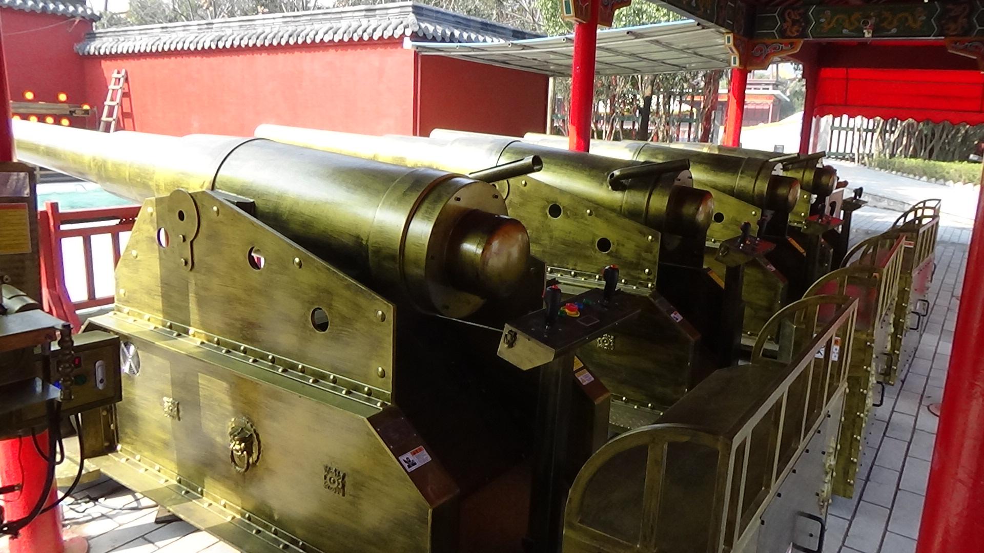 50毫米電控古炮 - 杭州圣博游樂設備廠