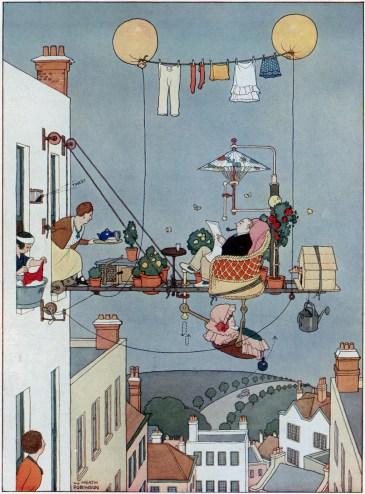 Absurdity and wonder: Heath Robinson at home | 1843