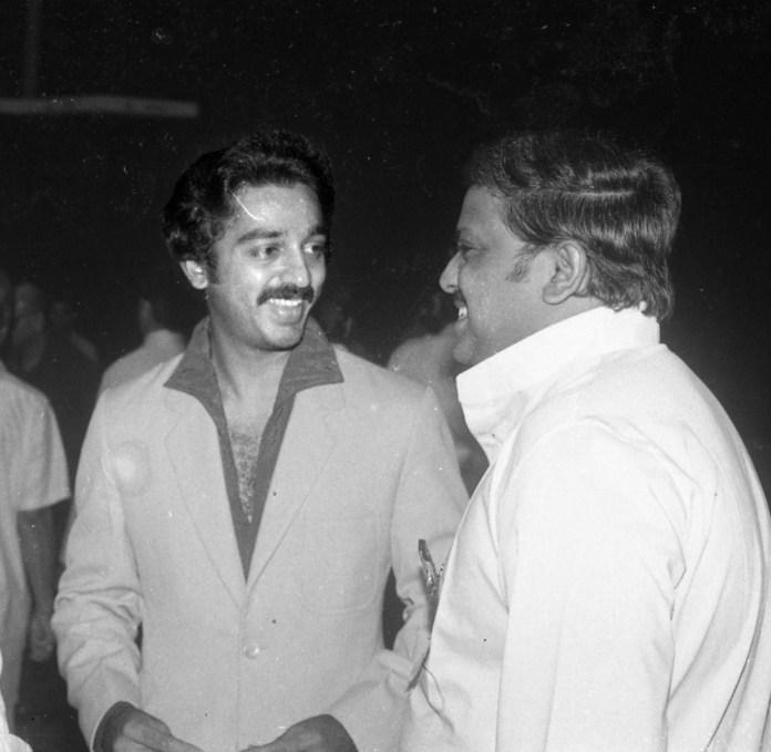 Kamal Haasan pays tribute to SPB on his first demise annivers