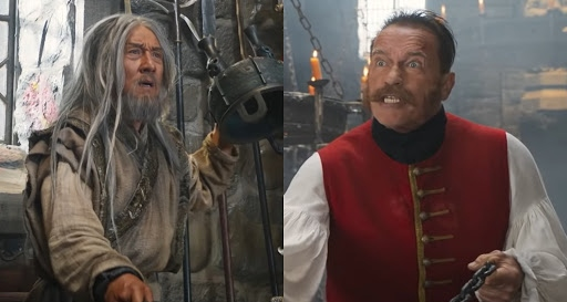 Legends Jackie Chan and Arnold Schwarzenegger collide in new 'Iron Mask' trailer - Tamil News - IndiaGlitz.com