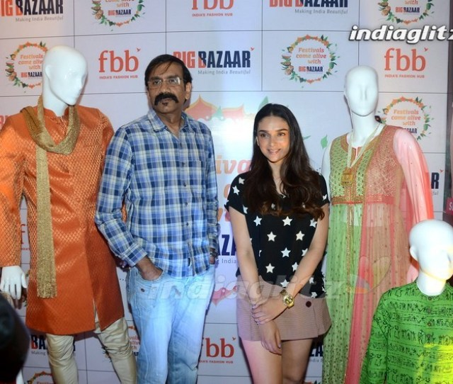 1 19 Aditi Rao Hydari Launches Fbb Ugadi Festive Collections