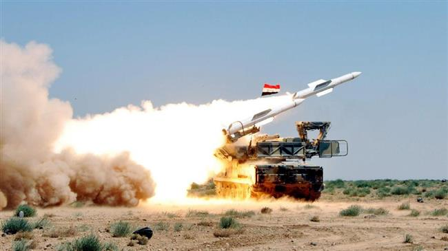 The file photo of a Syrian air defense system