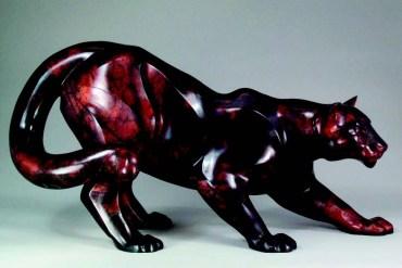 2009-Autumn-Oregon-Artist-Shelley-Curtiss-sculptor-cougar-clay-art-figures