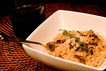 2010-Autumn-Oregon-Food-Recipe-Wild-Mushroom-Risotto-with-Oregon-White-Truffle-Oil-eat-cook-chef
