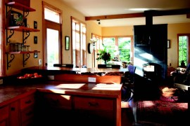 2010-Winter-Oregon-Coast-Eco-Friendly-Interior-Design-Coos-Bay-St-John-and-Chisholm-residence-kitchen-dining-room