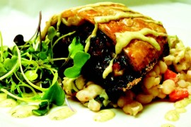 2011-Winter-Southern-Oregon-Recipe-Food-Ashland-Larks-Restaurant-Mushroom-and-Blue-Cheese-Strudel-eat-cook-chef