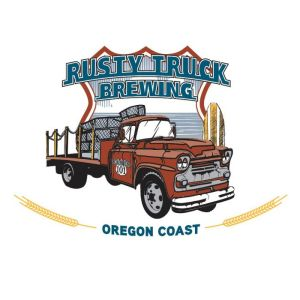 oregon-coast-lincoln-city-rusty-truck-brewing-logo