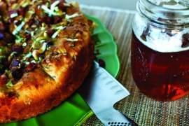 2012-Spring-Oregon-Food-Home-Grown-Chef-Lisa-Glickman-Chorizo-Cheese-Bread-with-beer-recipe-cook-eat-food