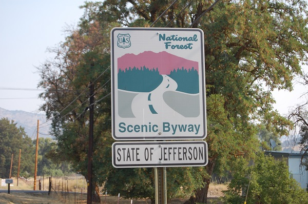 state of jefferson, southern oregon, northern california, peter laufer