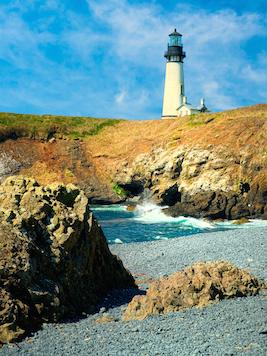 Yaquina Head Lighthouse, coast