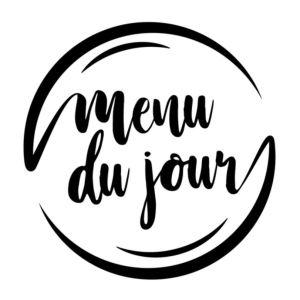 Menu du jour vieux port canebiere Marseille restaurant click and collect