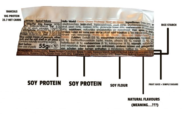 The Problem With Mass Made Protein Bars