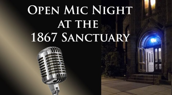 <b>Open Mic Night</b><br>Friday, October 25 — 7:00 PM