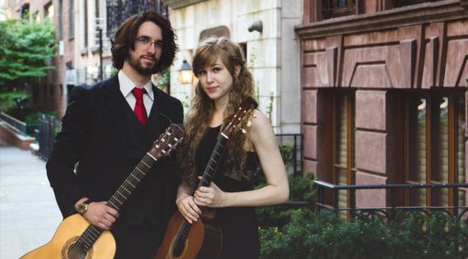 <b>Hannah Murphy and Phil Goldenberg, Classical Guitarists</b><br>Sunday, January 12 — 2:00 PM