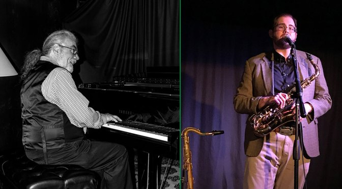 <b>Joe Holt, Jazz Piano and Cody Leavel, Saxophone</b><br>Saturday, May 11  — 2:00 PM