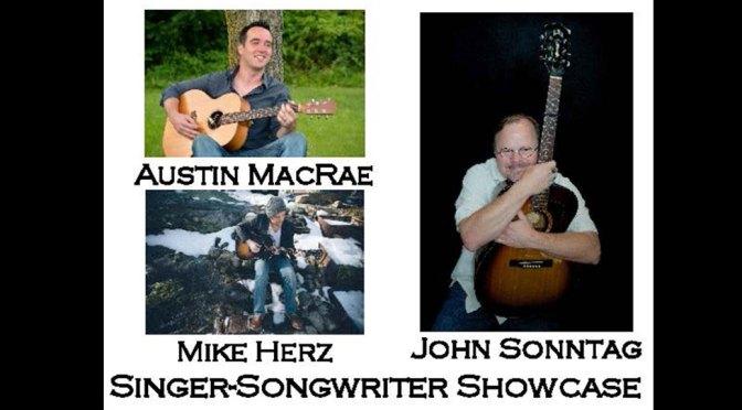 <b>Austin MacRae, Mike Herz, and John Sonntag</b><br>Friday, April 12 — 8:00 PM
