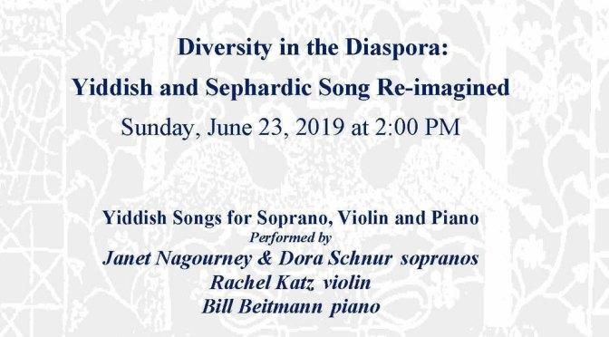 Diversity in the Diaspora Concert Poster