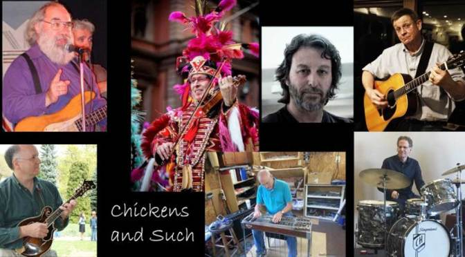 <b>Chickens and Such</b><br>Friday, July 5 — 8:00 PM