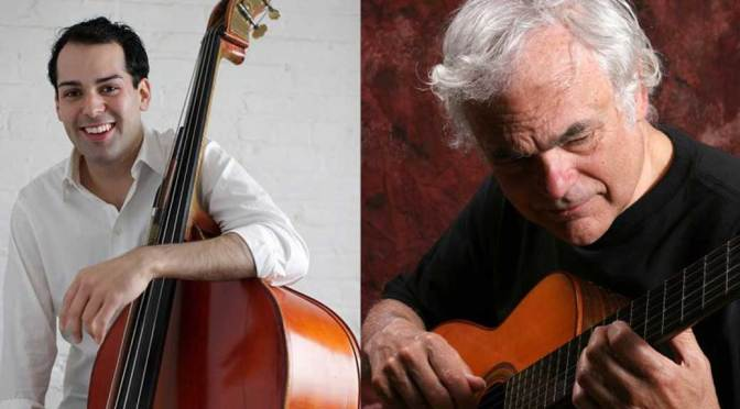 <b>Josh Marcum and Gene Bertoncini, Jazz Guitarists</b><br>Friday, September 6 — 8:00 PM