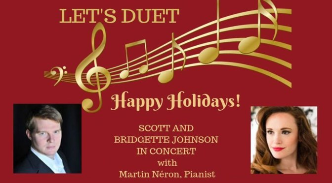 <b>Let's Duet: Happy Holidays!</b><br>Saturday, December 7 — 2:00 PM