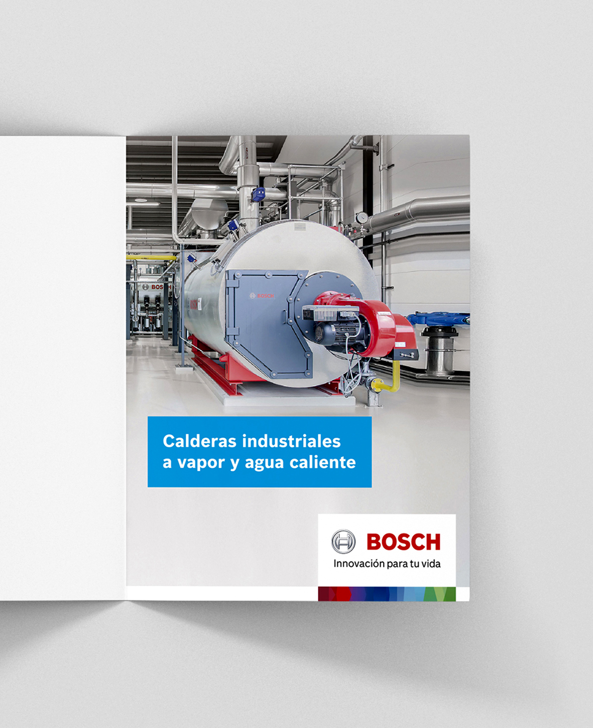 Brochure. Calderas Industriales Bosch Thermotechnology.